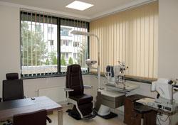 Gabinet okulistyczny w Centrum Medycznym EVITA