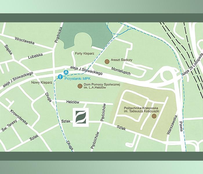 Mapa Evita